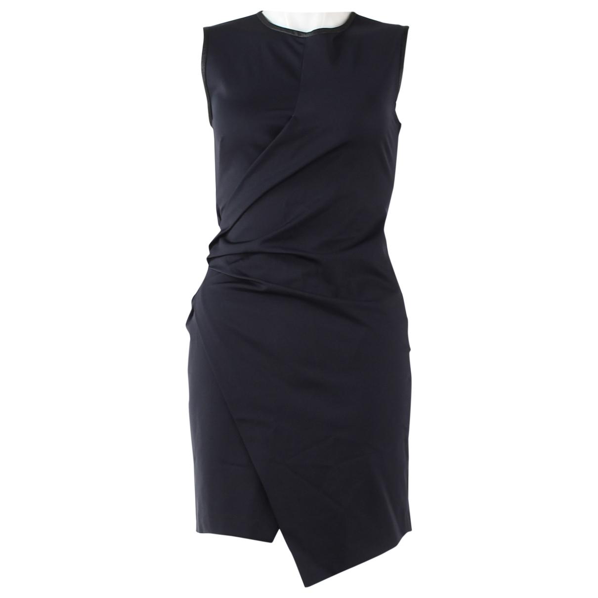 Pinko - Robe   pour femme en cuir - marine