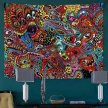 Eye Print Tapestry