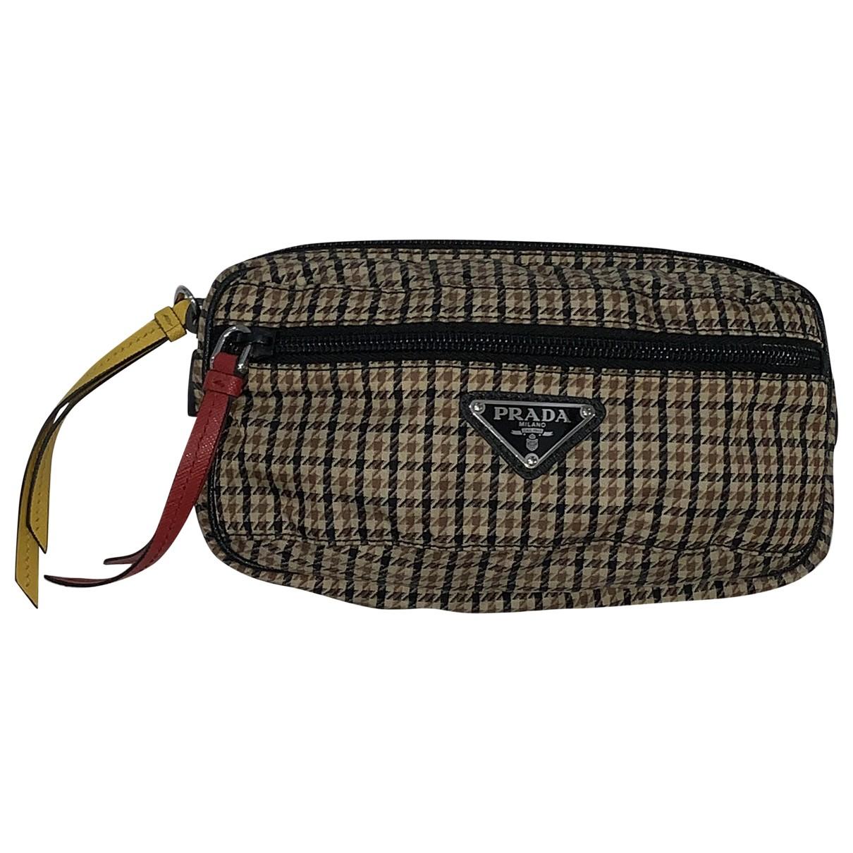Prada \N Brown Small bag, wallet & cases for Men \N