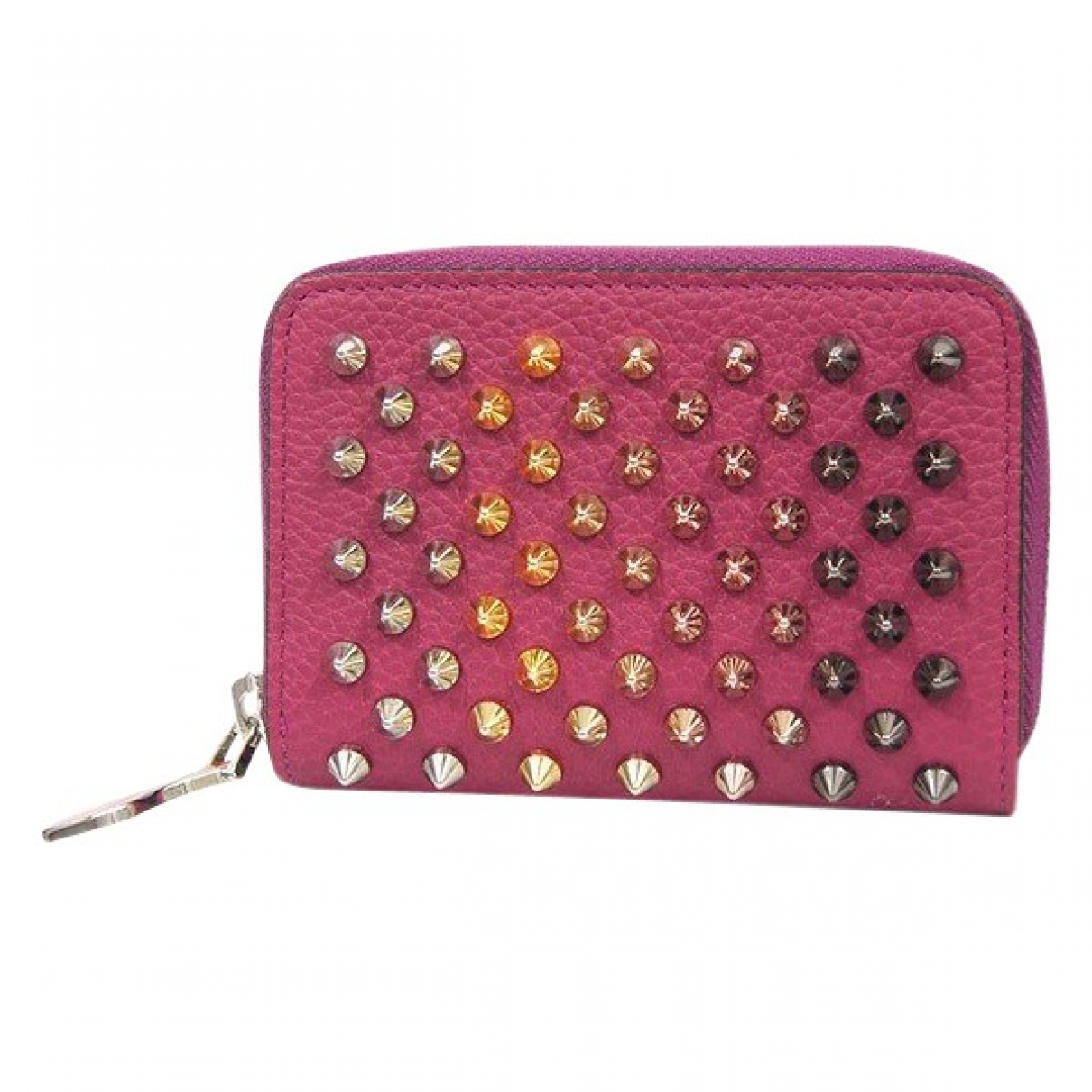Christian Louboutin \N Pink Leather Purses, wallet & cases for Women \N