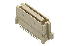 Molex , 52901 0.64mm Pitch 90 Way 2 Row Vertical PCB Socket, Surface Mount, Solder Termination (110)
