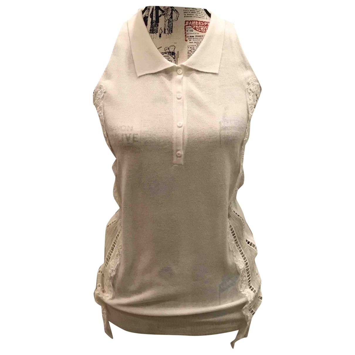 Ermanno Scervino - Pull   pour femme - blanc