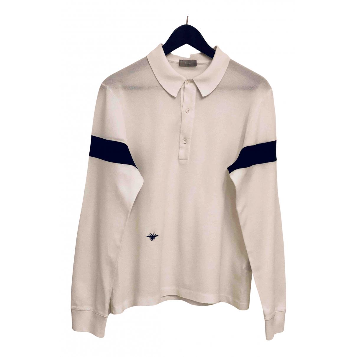 Dior Homme - Polos   pour homme en coton - blanc
