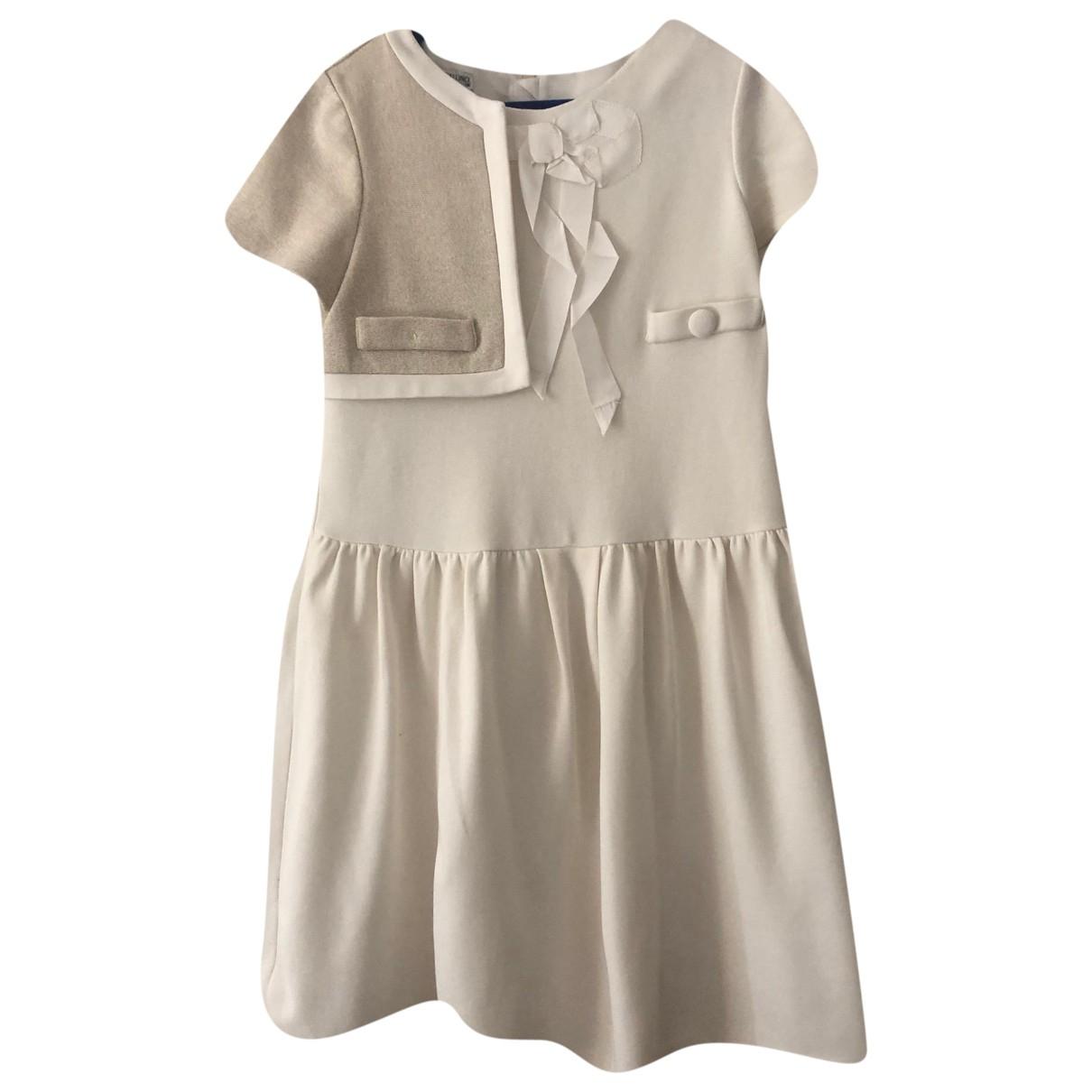 I Pinco Pallino - Robe    pour enfant - ecru