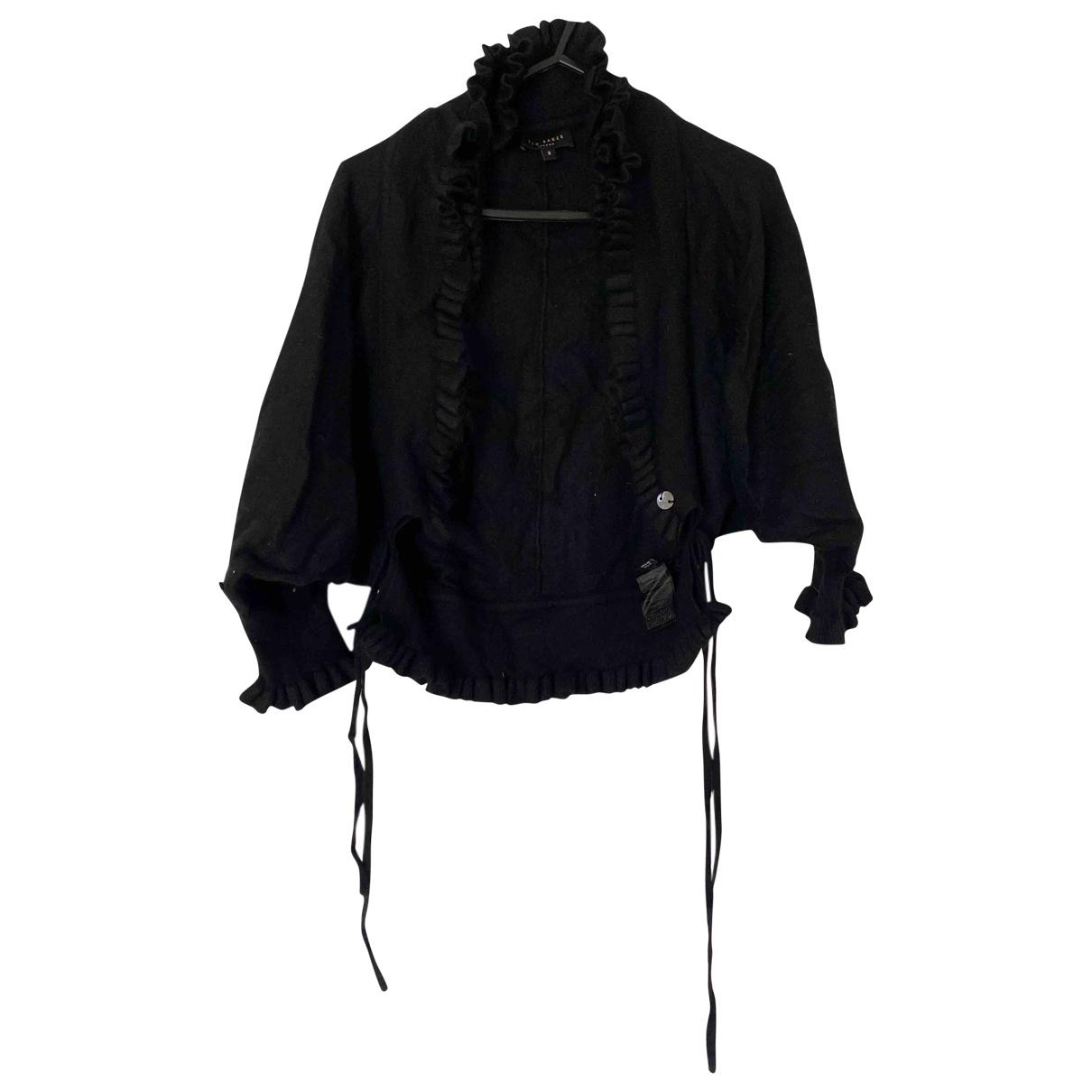 Ted Baker - Top   pour femme en laine - noir
