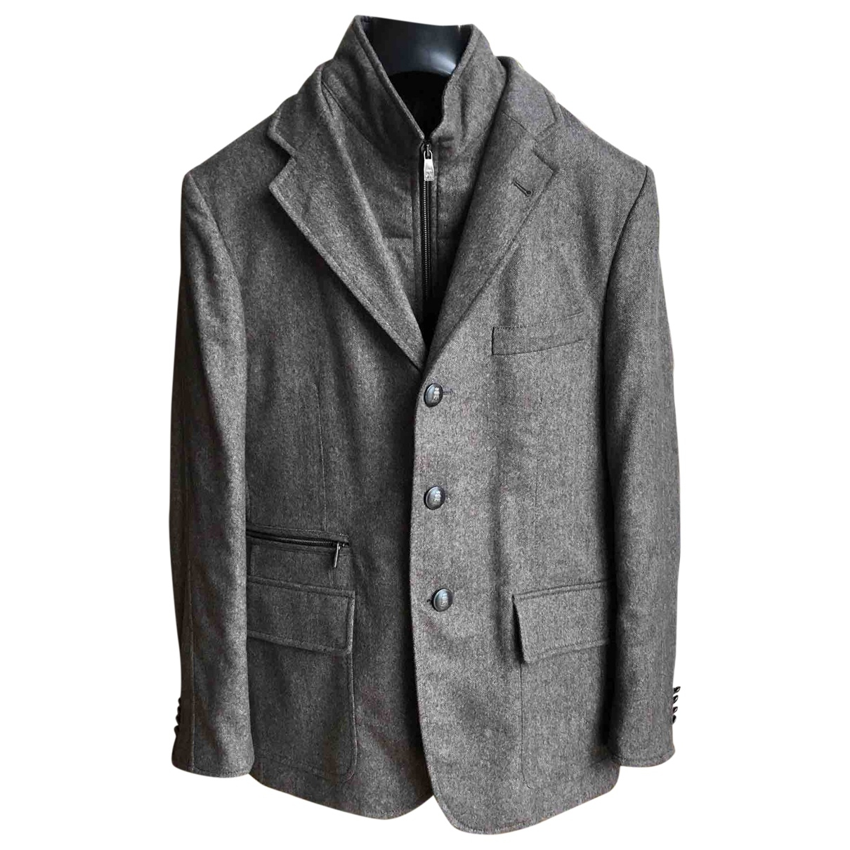 Corneliani \N Brown Wool jacket  for Men M International