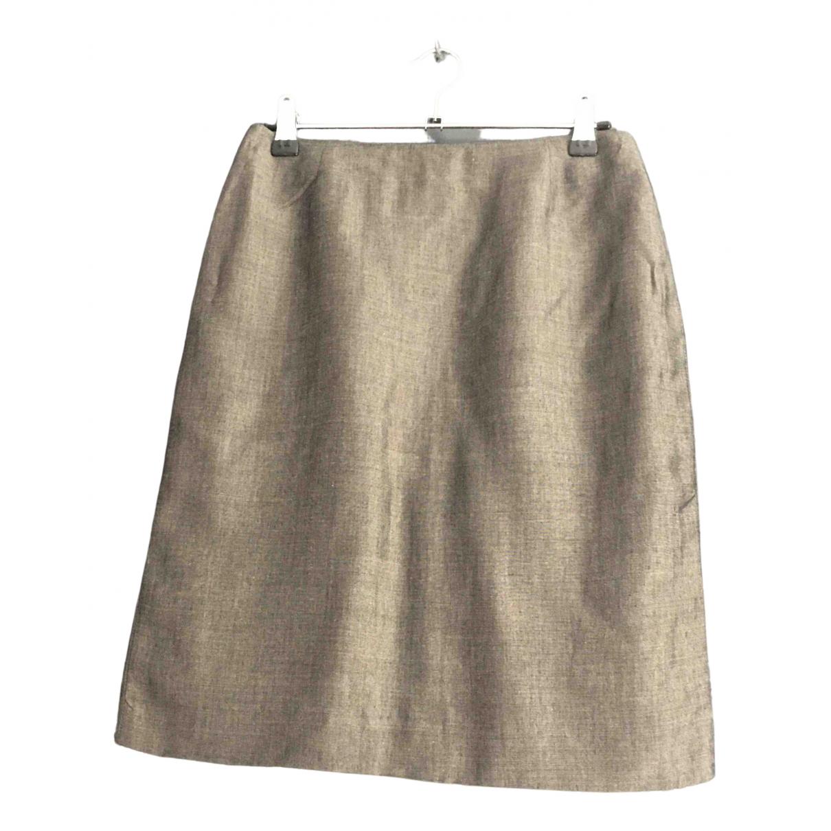 Gerard Darel - Jupe   pour femme en laine - gris