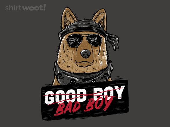 Good Boy, Bad Boy T Shirt