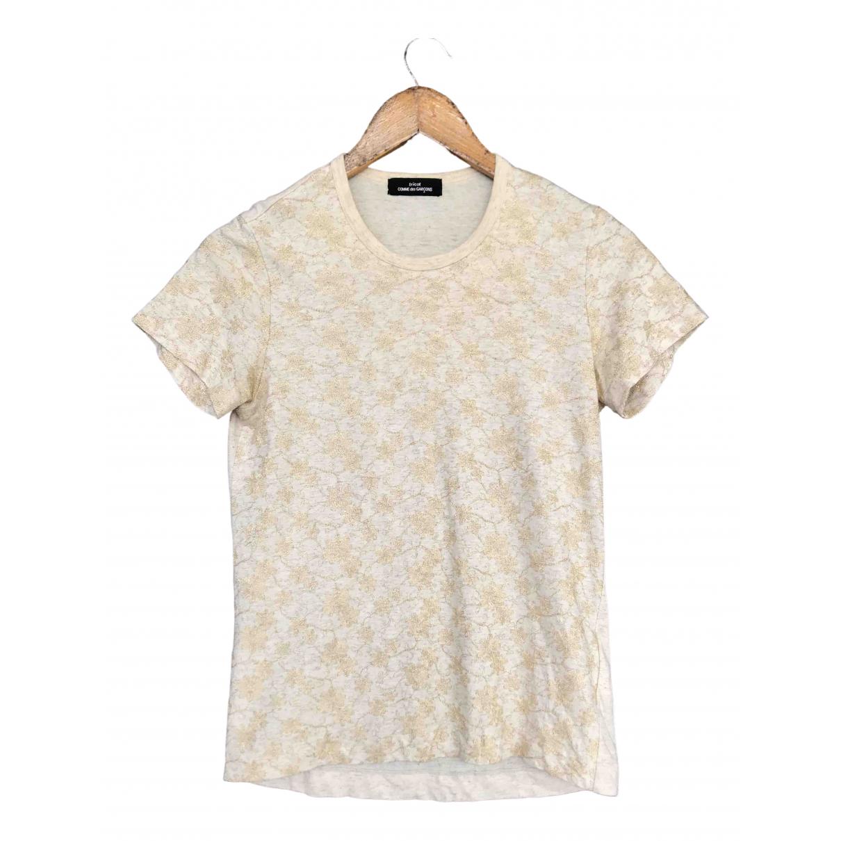Comme Des Garcons - Top   pour femme en coton - blanc