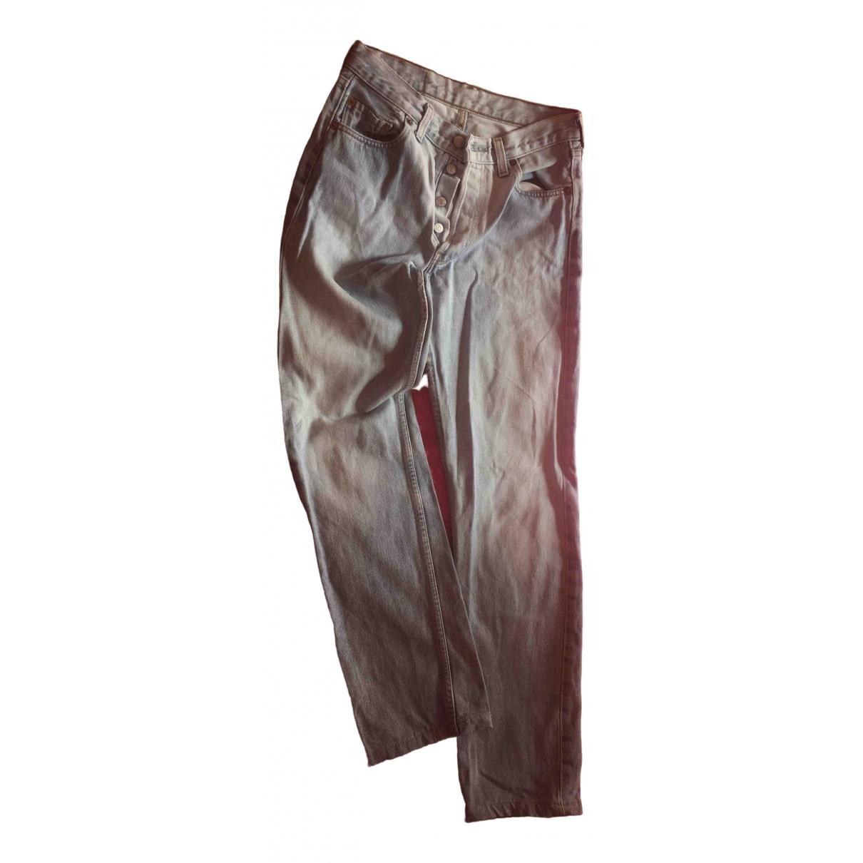 Levi's 501 Blue Denim - Jeans Jeans for Women 28 US