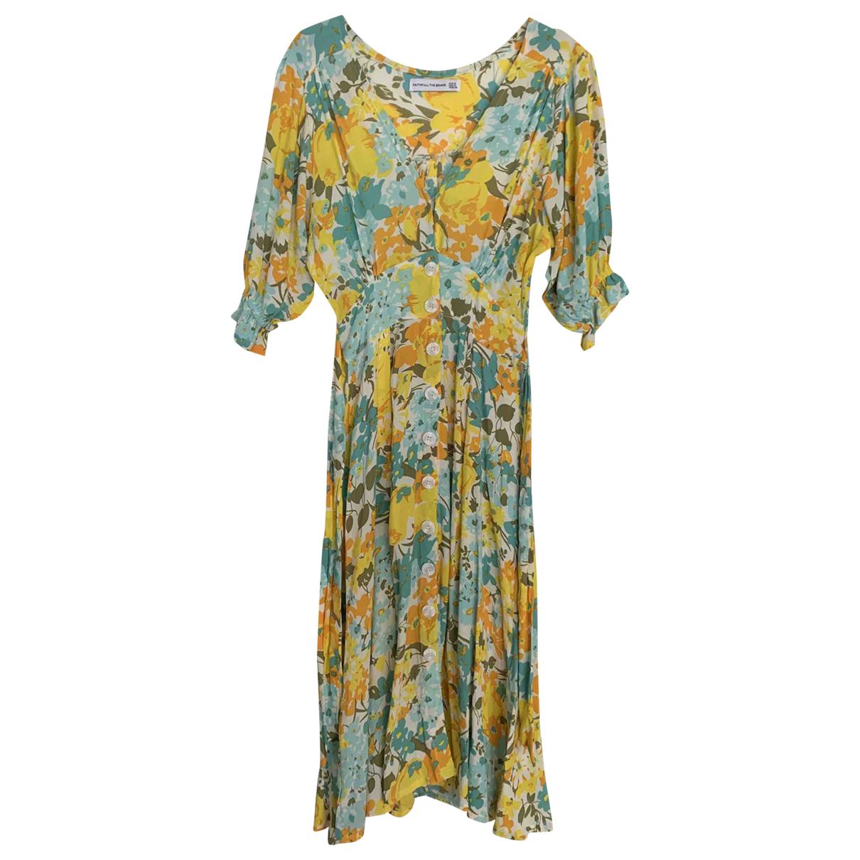 Faithfull The Brand - Robe   pour femme - multicolore