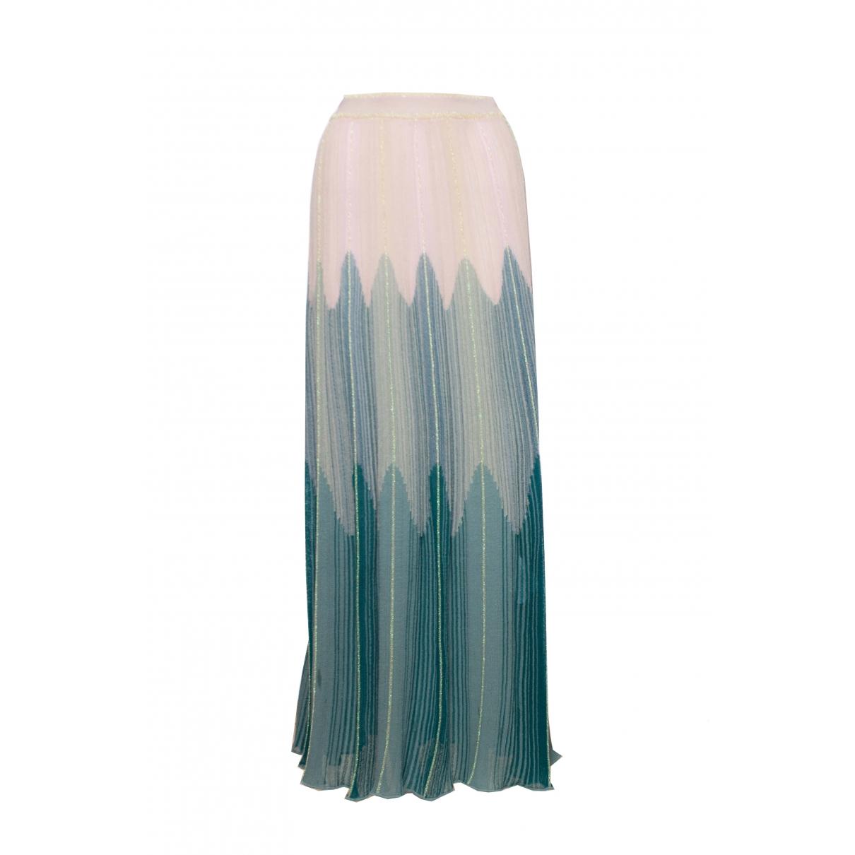 Missoni - Jupe   pour femme en coton - multicolore