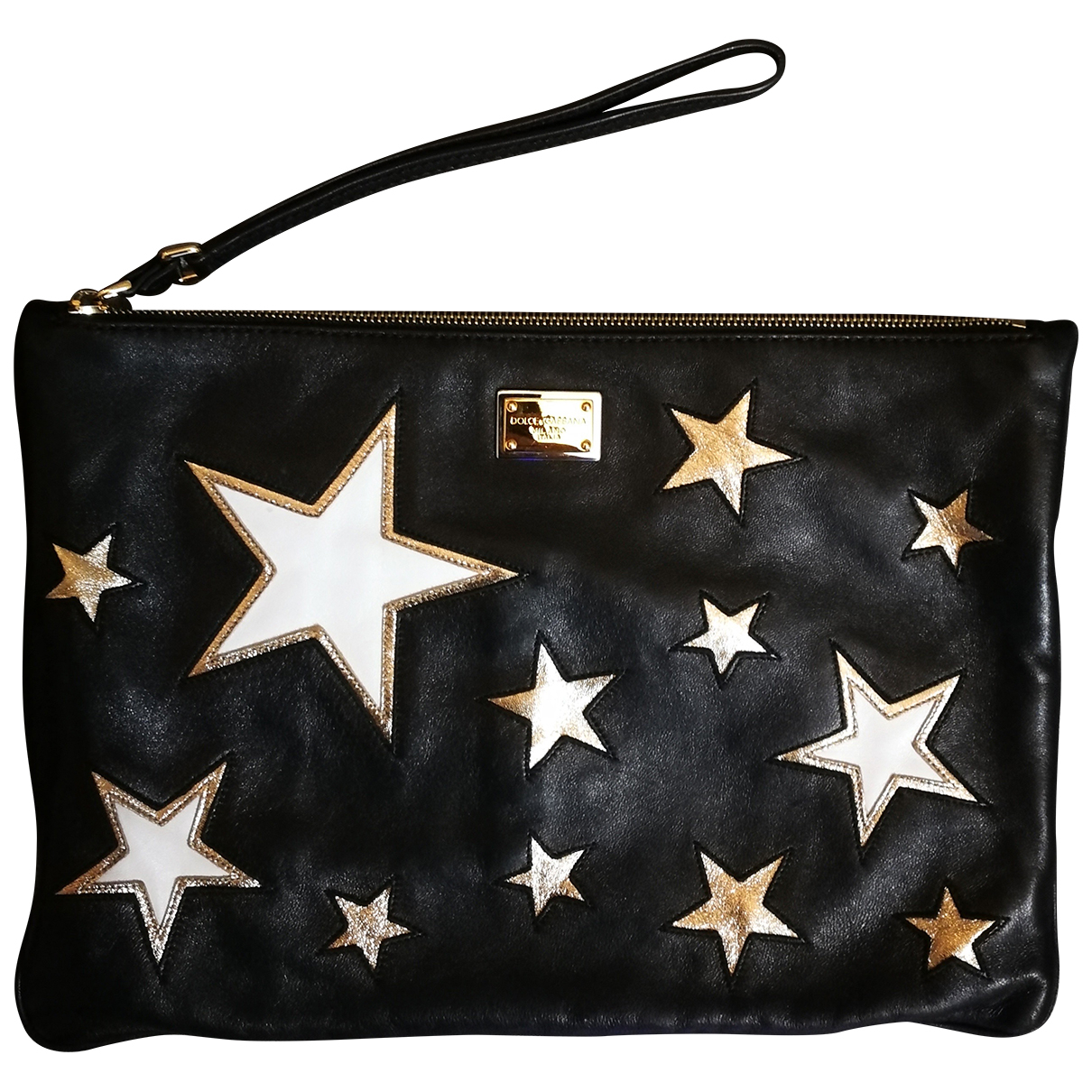 Dolce & Gabbana N Black Leather Clutch bag for Women N
