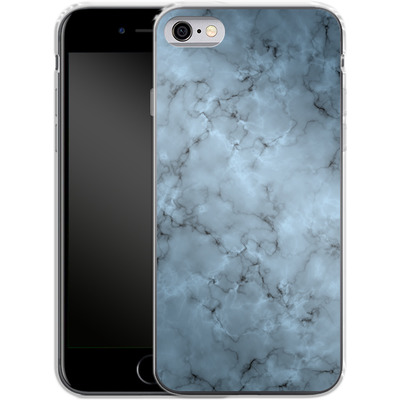 Apple iPhone 6s Silikon Handyhuelle - Blue Marble von caseable Designs
