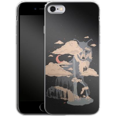 Apple iPhone 6s Silikon Handyhuelle - At the foot of fox mountain von ND Tank