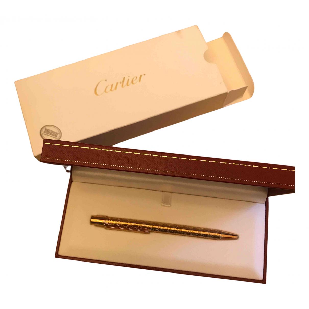 Cartier - Objets & Deco   pour lifestyle en or rose - dore