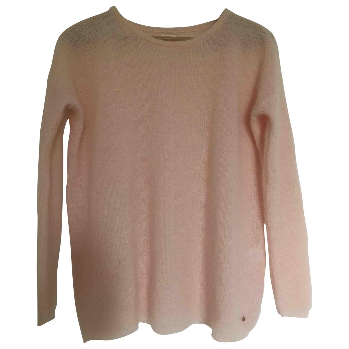 Des Petits Hauts - Pull   pour femme en laine - rose