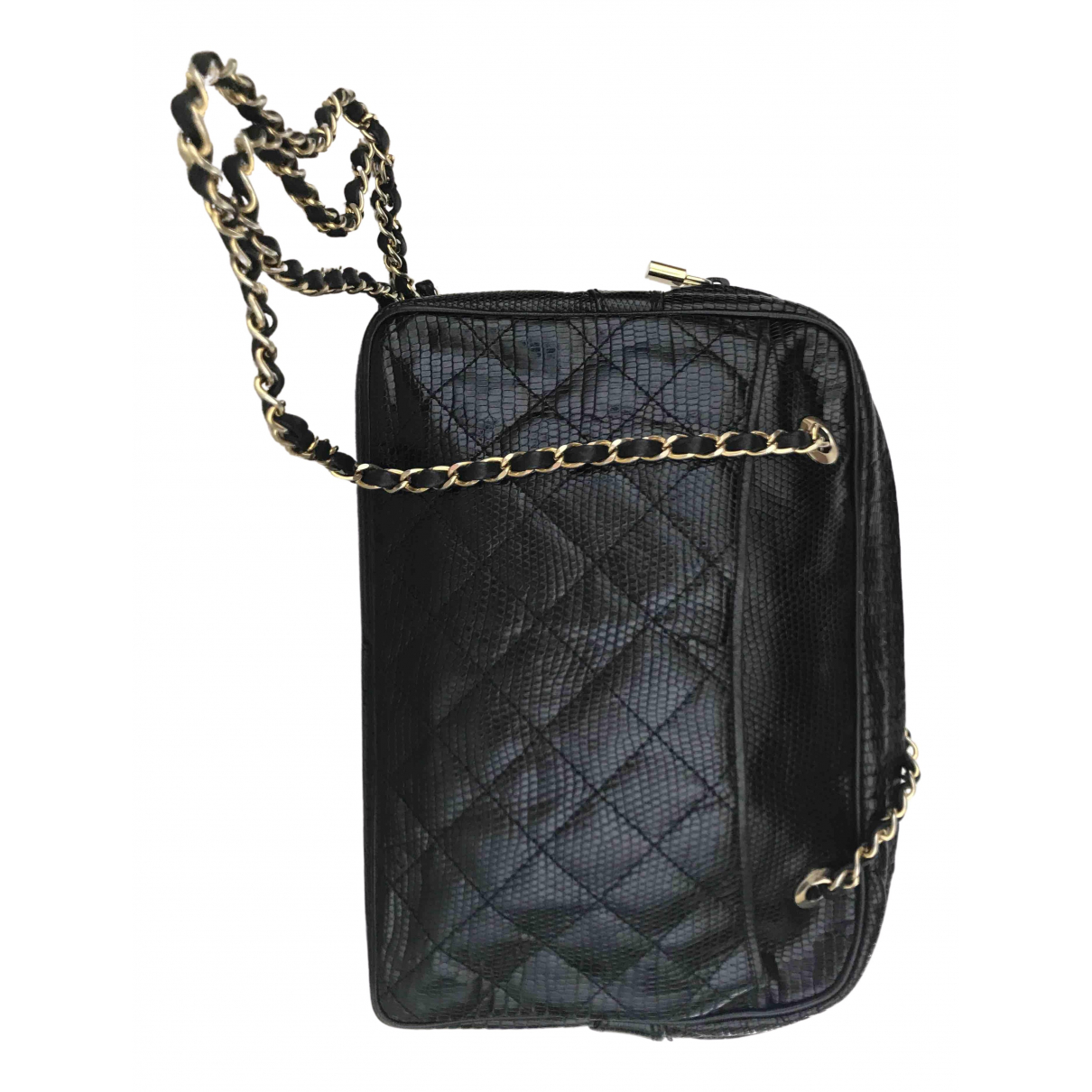 Colombo N Black Leather handbag for Women N