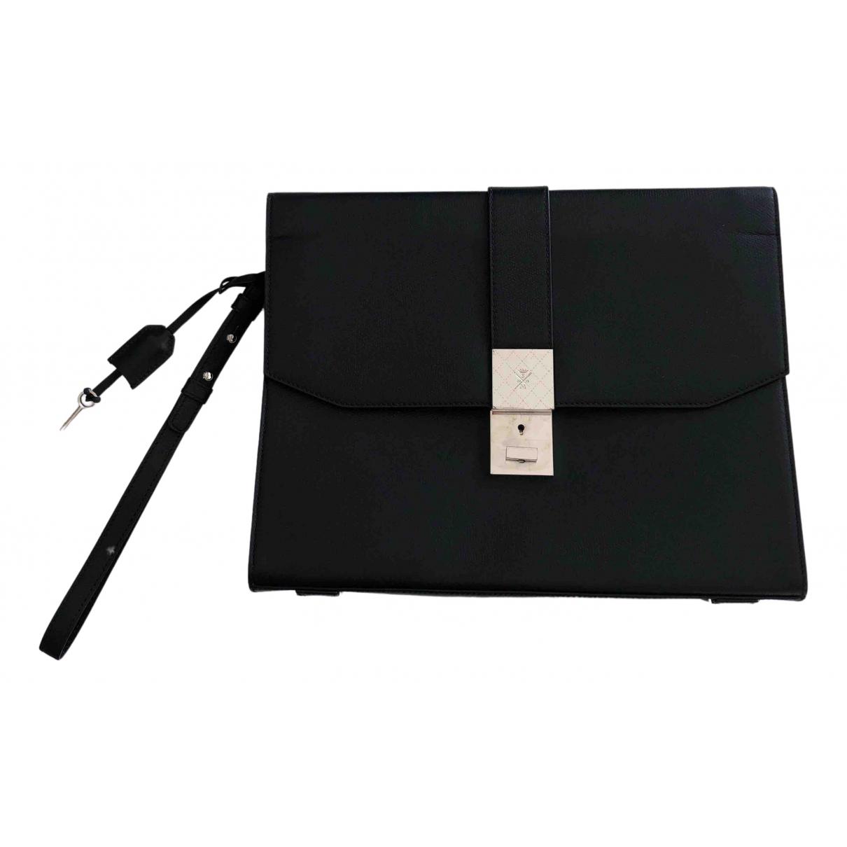 Sutor Mantellassi - Sac   pour homme en cuir - noir