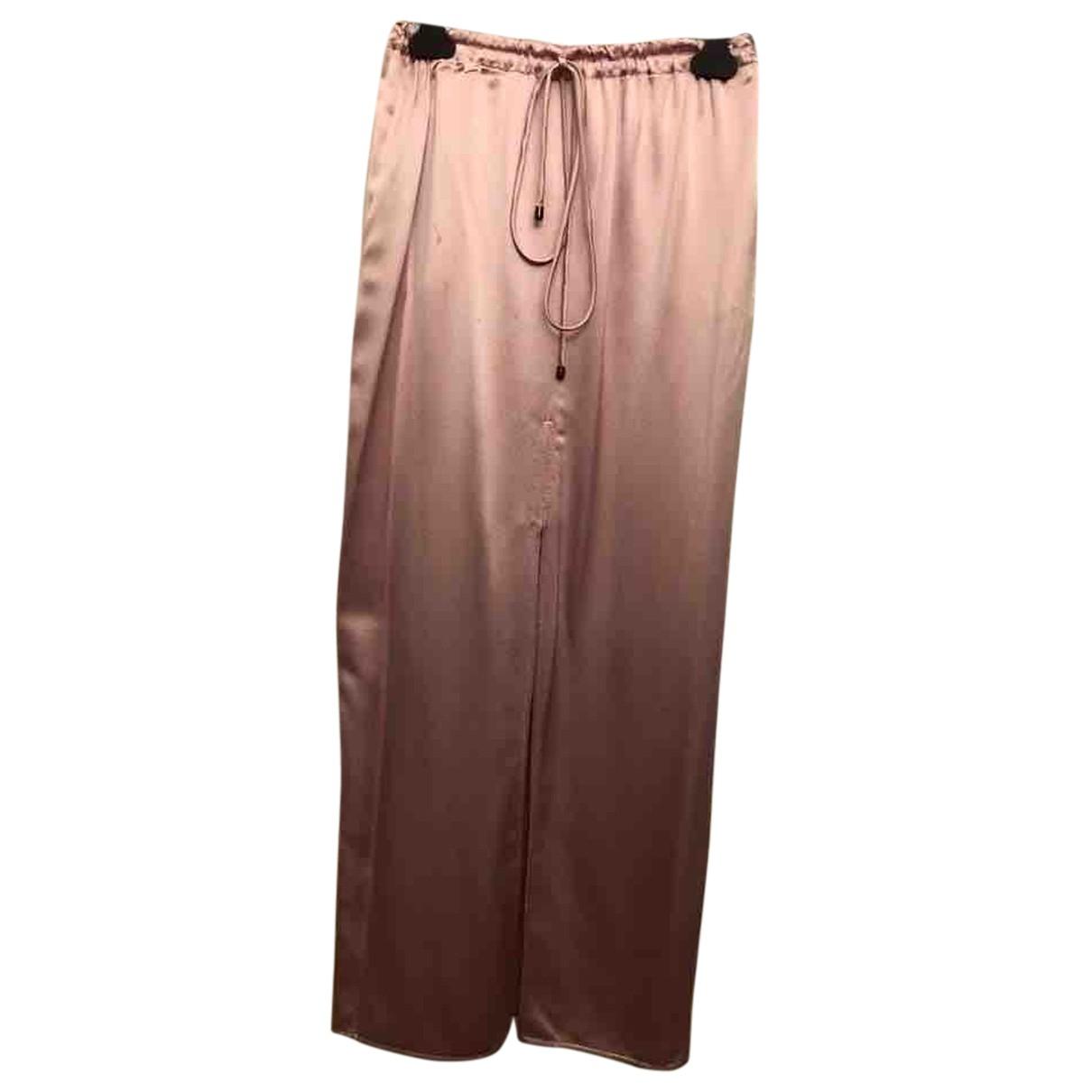 Valentino Garavani N Pink Silk skirt for Women 6 US