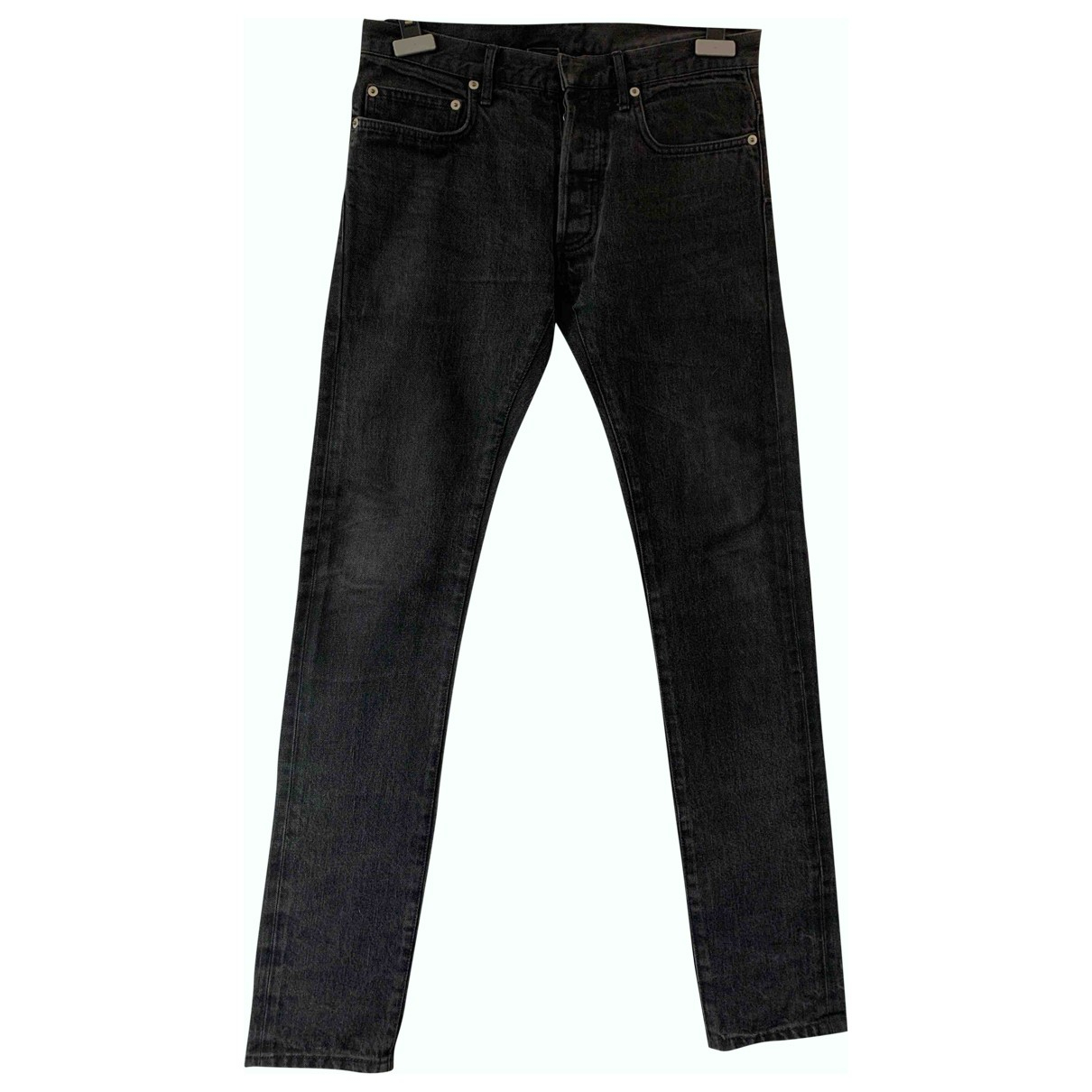 Dior Homme N Grey Cotton Jeans for Men 30 US