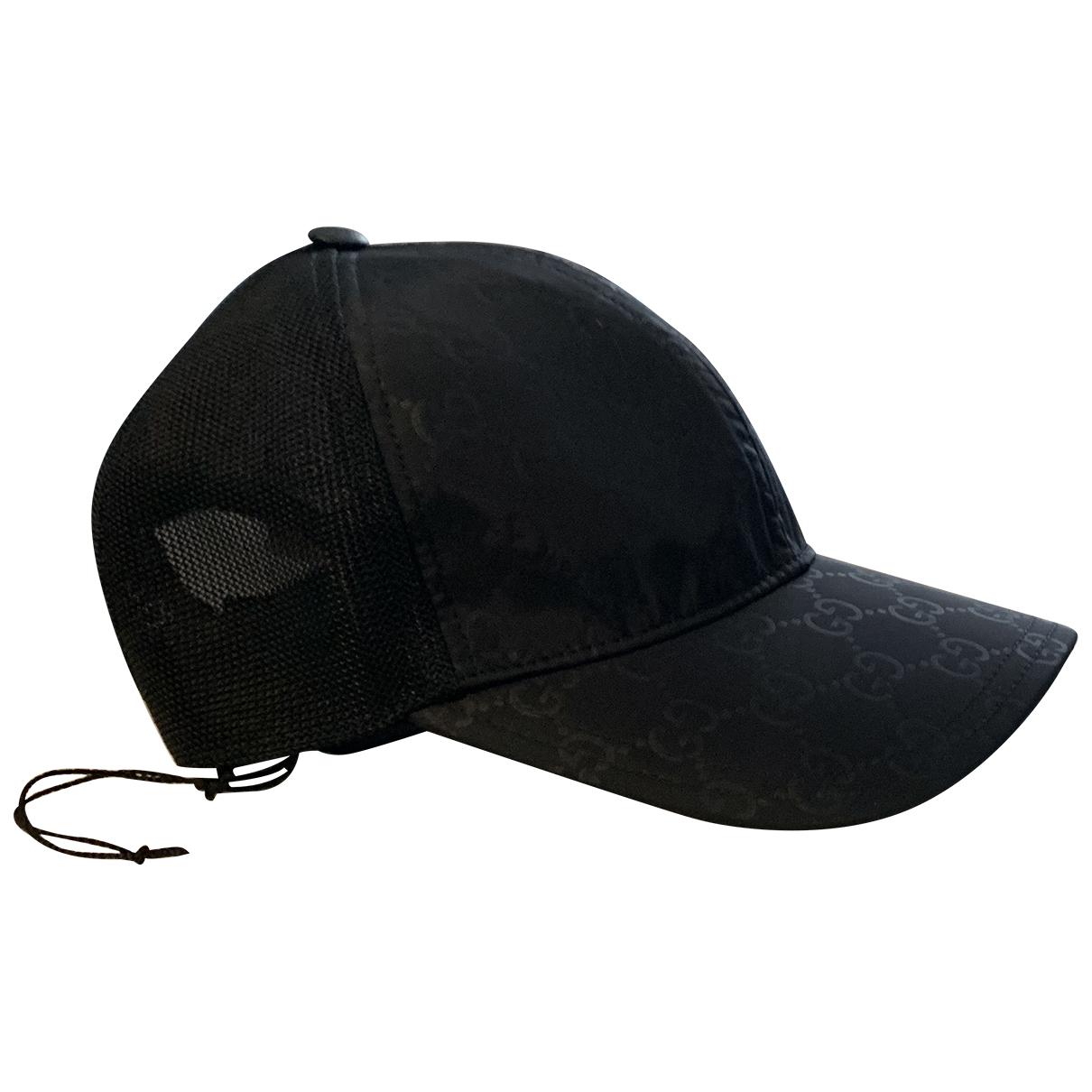 Gucci - Chapeau & Bonnets   pour homme - noir