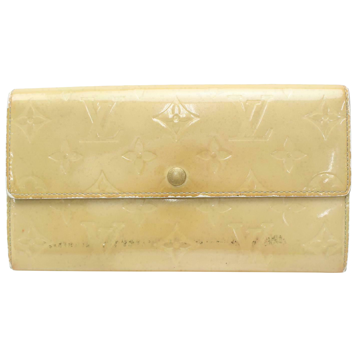 Louis Vuitton N Patent leather wallet for Women N