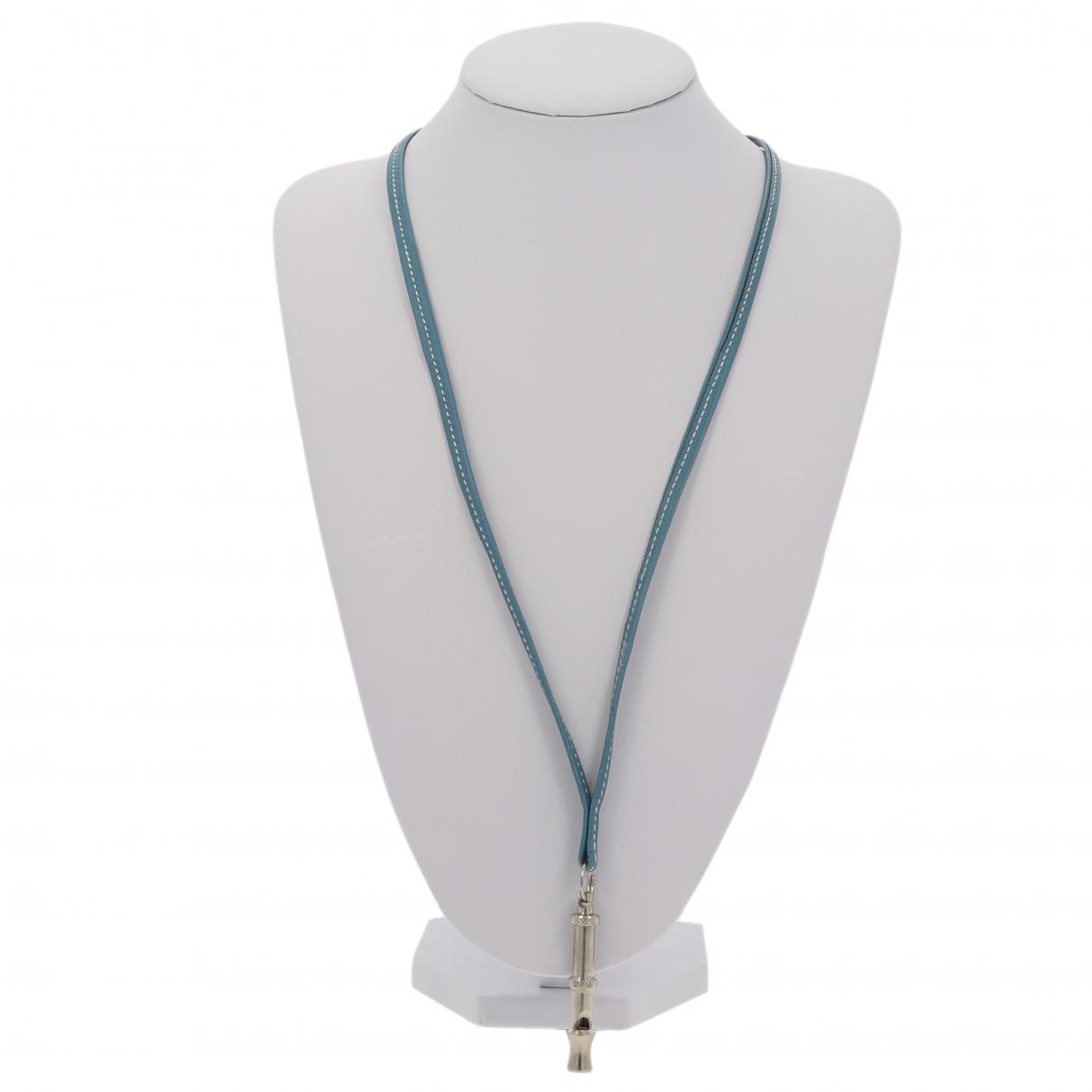 Hermes - Petite maroquinerie   pour femme en cuir - bleu