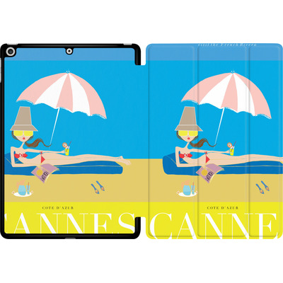 Apple iPad 9.7 (2017) Tablet Smart Case - CANNES TRAVEL POSTER von IRMA