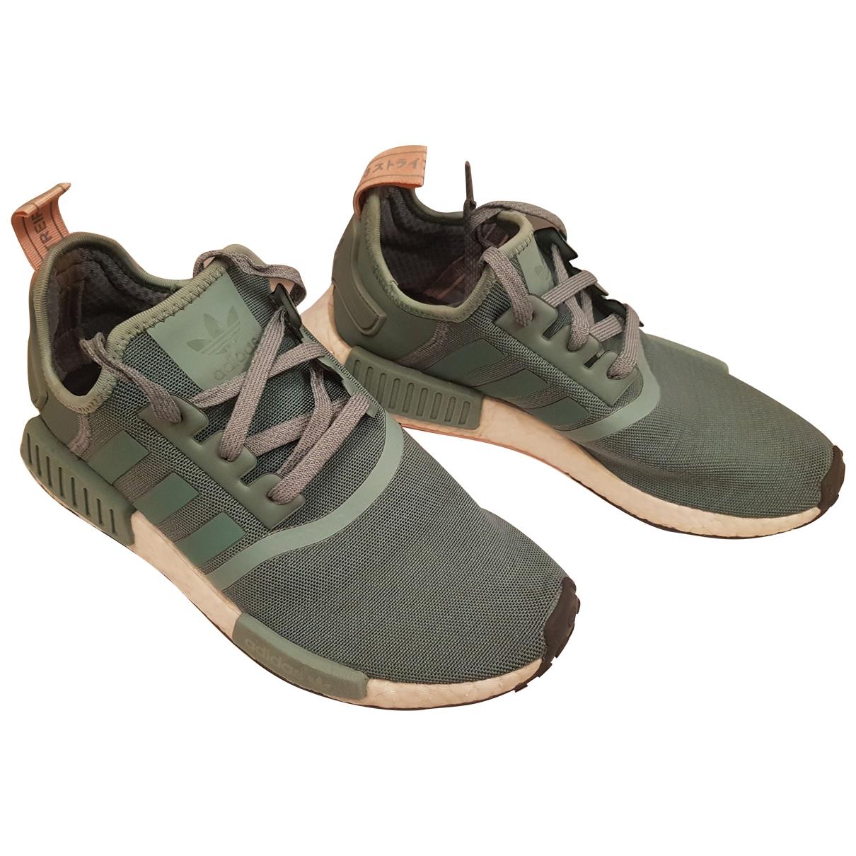 Adidas - Baskets Nmd pour femme en toile - vert