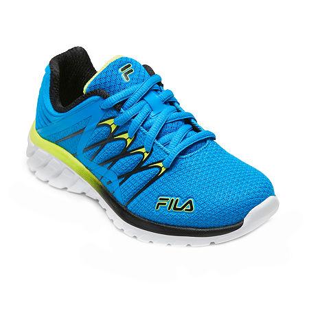 Fila Shadow Sprinter 4 Boys Running Shoes, 5 Medium, Blue