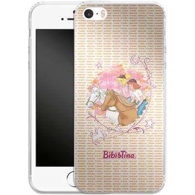 Apple iPhone 5 Silikon Handyhuelle - Bibi und Tina Abenteuer von Bibi & Tina