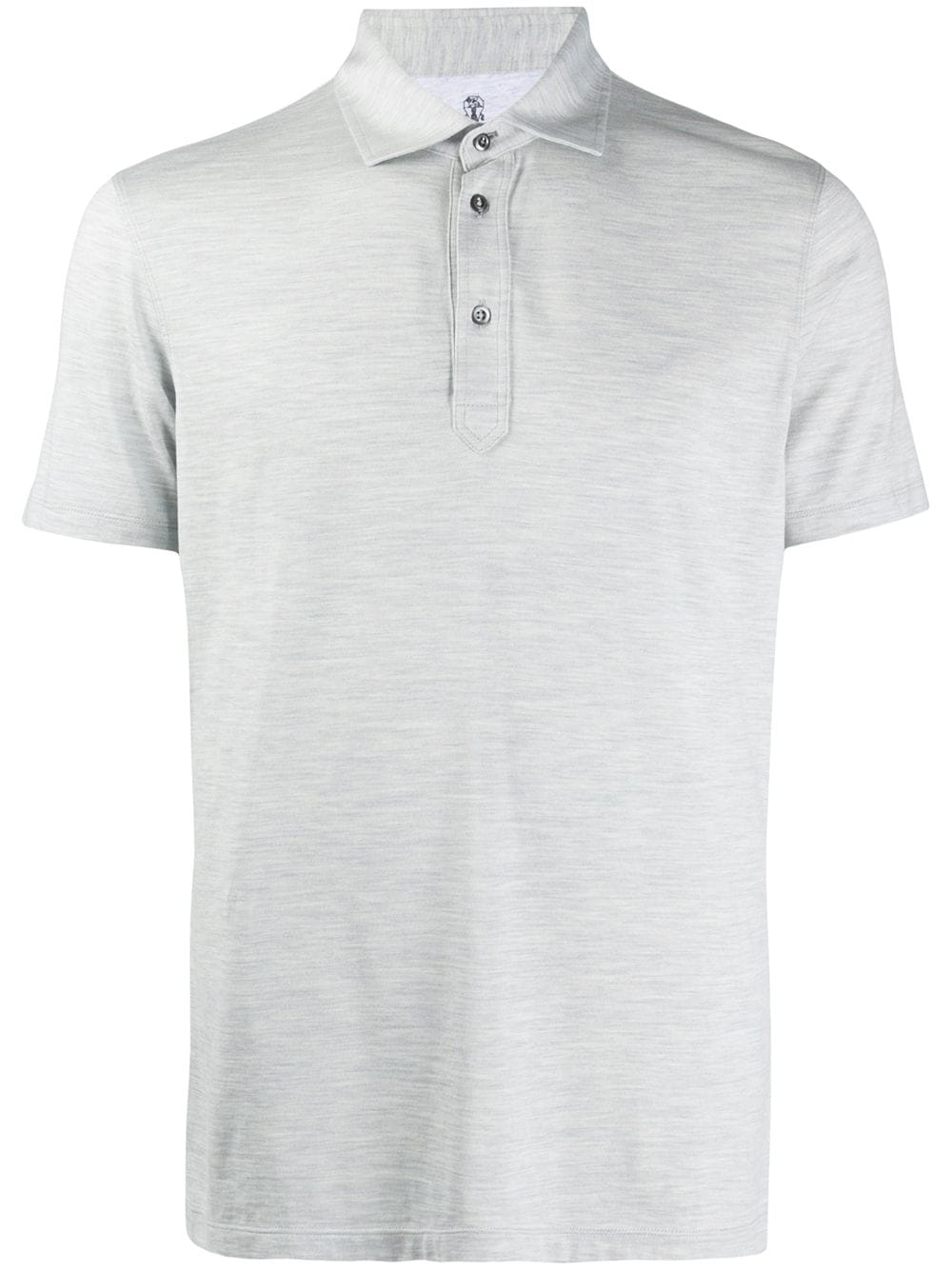 Silk Blend Polo Shirt