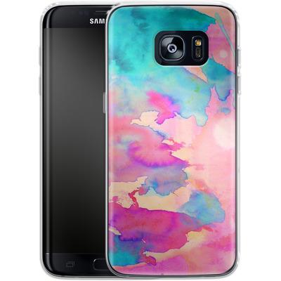 Samsung Galaxy S7 Edge Silikon Handyhuelle - Dawn Light von Amy Sia