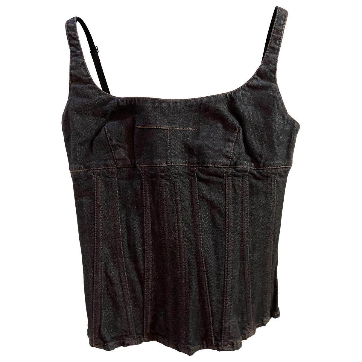 D&g \N Black Denim - Jeans  top for Women M International