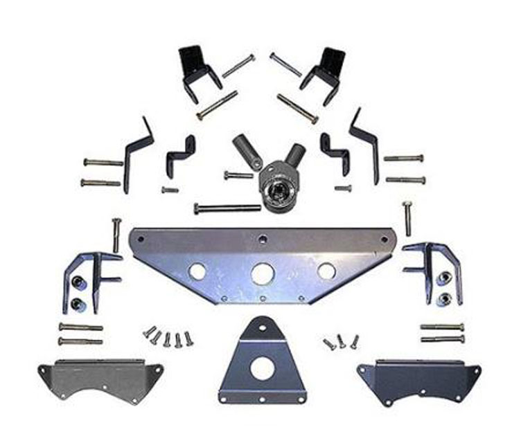 TJ Long Arm Upgrade Kit Extreme Duty Tri Link 97-02 Wrangler TJ Rubicon Express RE7530