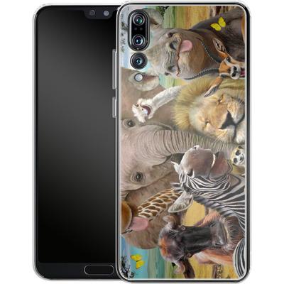 Huawei P20 Pro Silikon Handyhuelle - Africa Selfie von Howard Robinson