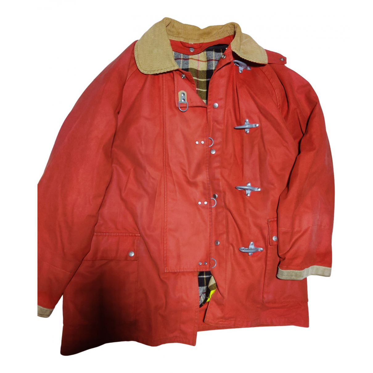 Fay \N Red Cotton jacket  for Men M International