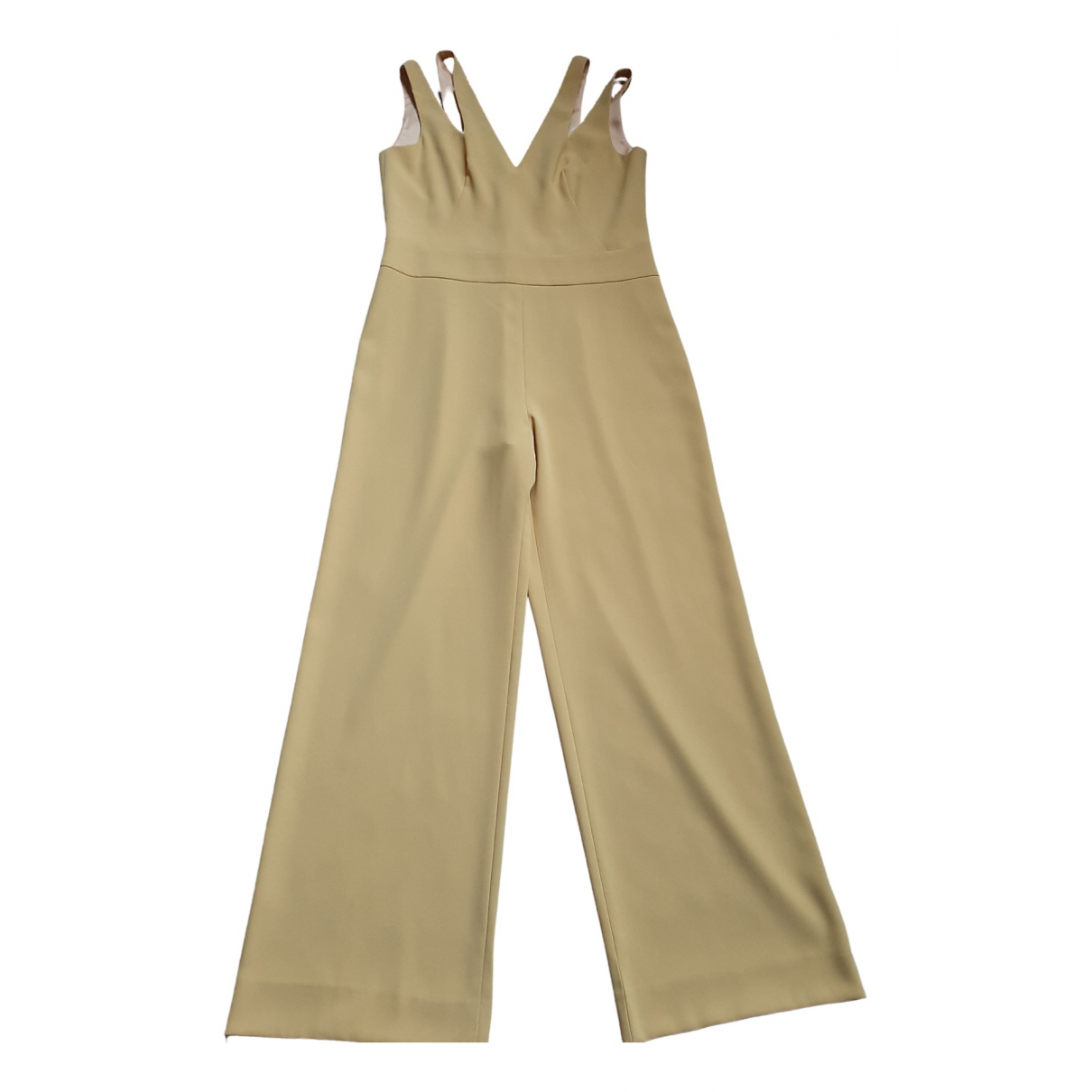 Non Signé / Unsigned \N Yellow jumpsuit for Women 38 FR
