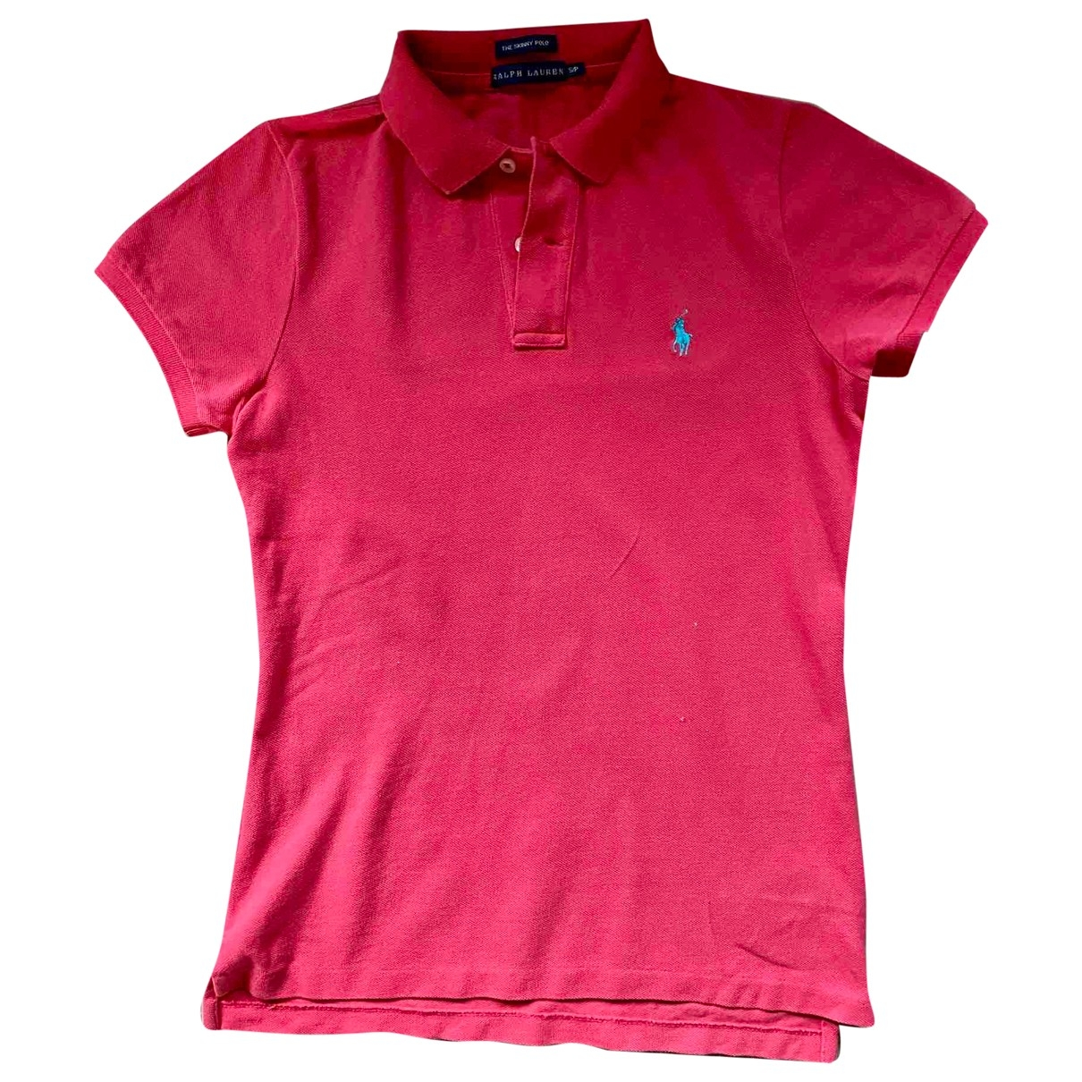 Polo Ralph Lauren Polo classique manches courtes Pink Cotton  top for Women S International