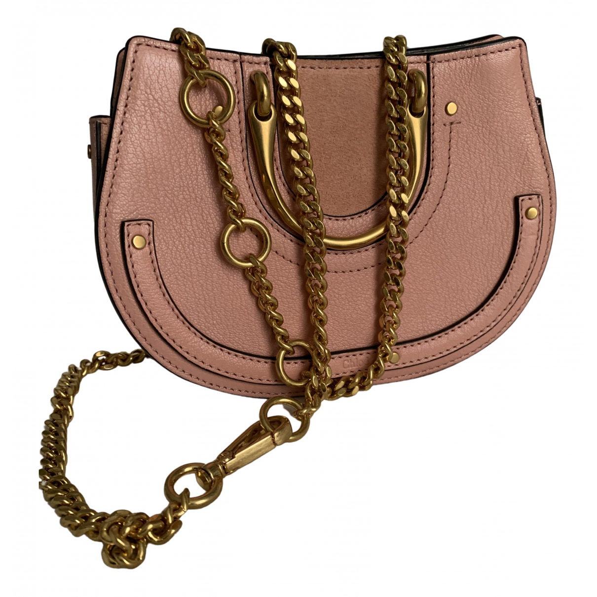 Chloé Bracelet Nile Pink Leather handbag for Women N