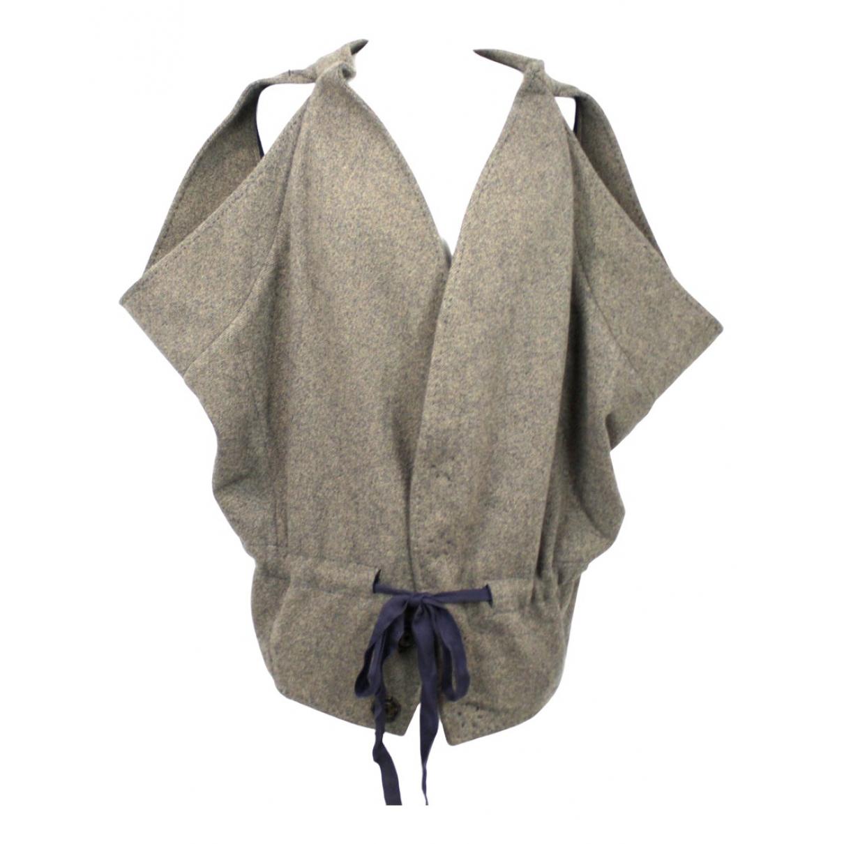 Stella Mccartney N Brown Wool coat for Women 42 IT