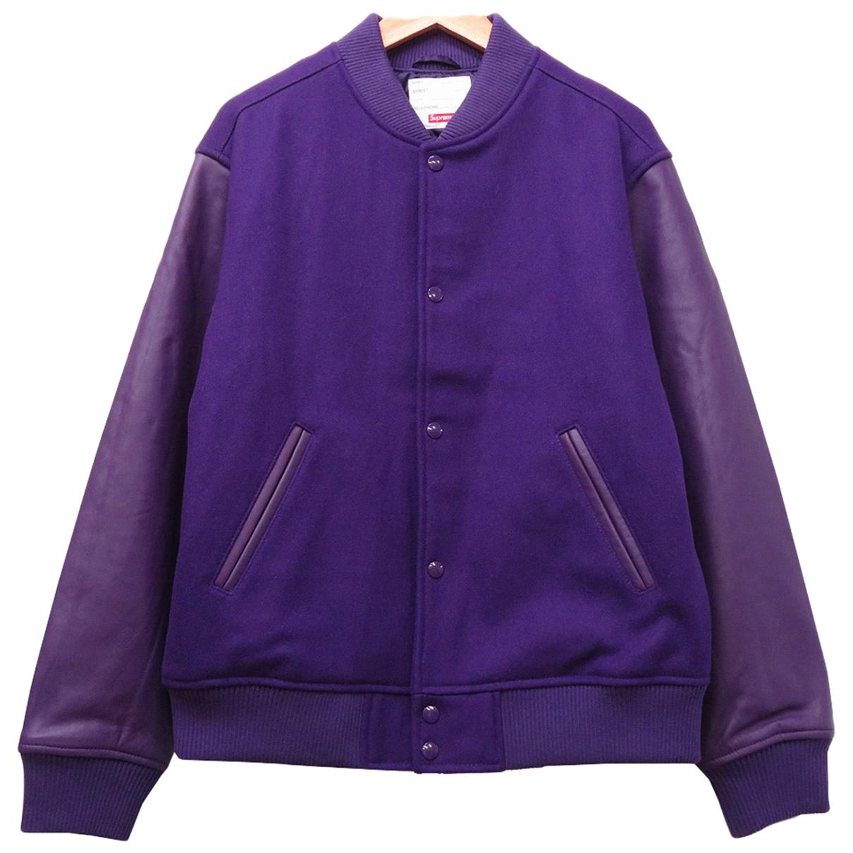 Supreme N Purple Wool jacket  for Men M International