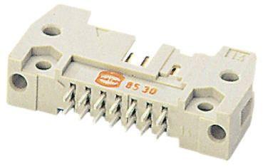 HARTING , SEK 18, 26 Way, 2 Row, Straight PCB Header