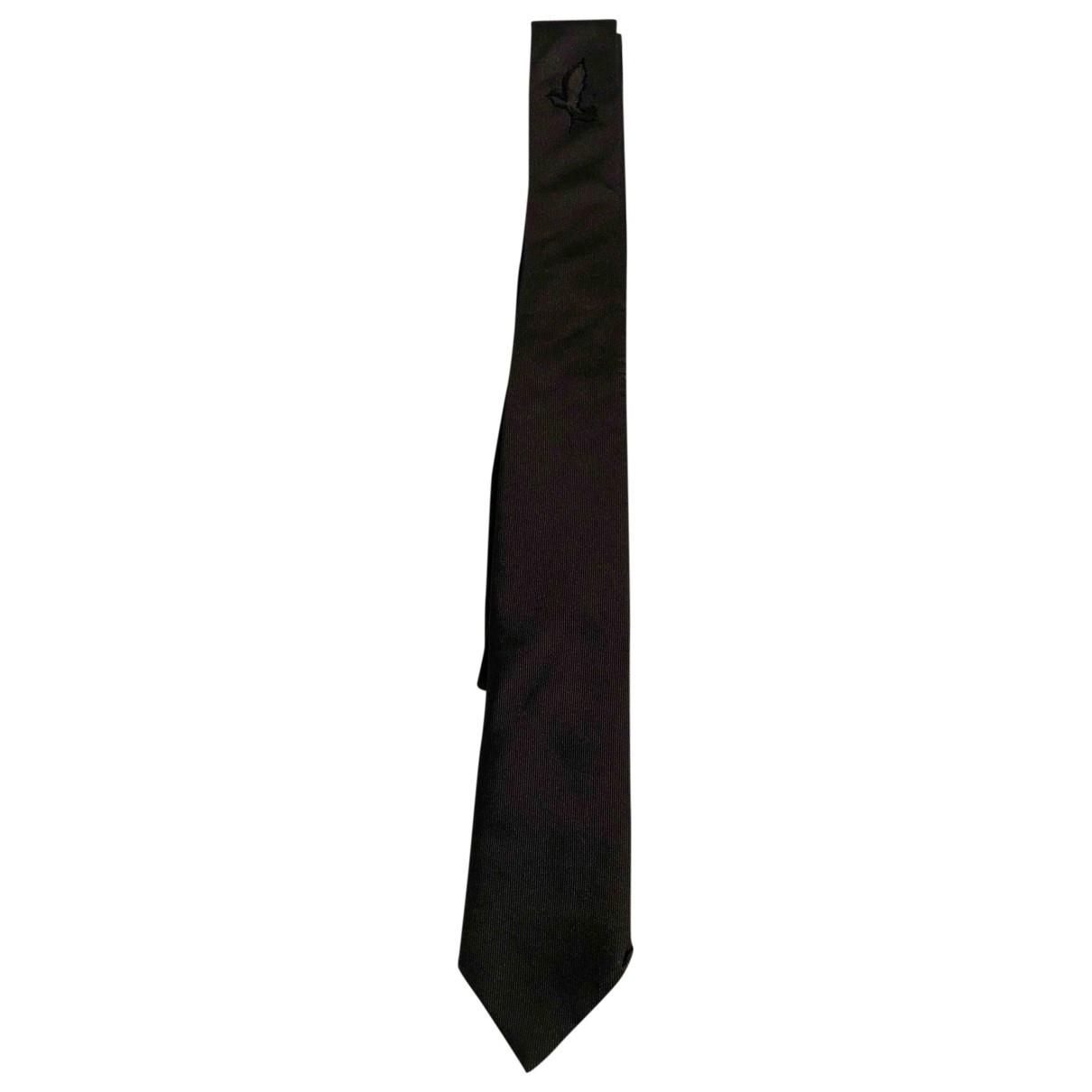 Dior Homme \N Krawatten in  Anthrazit Seide