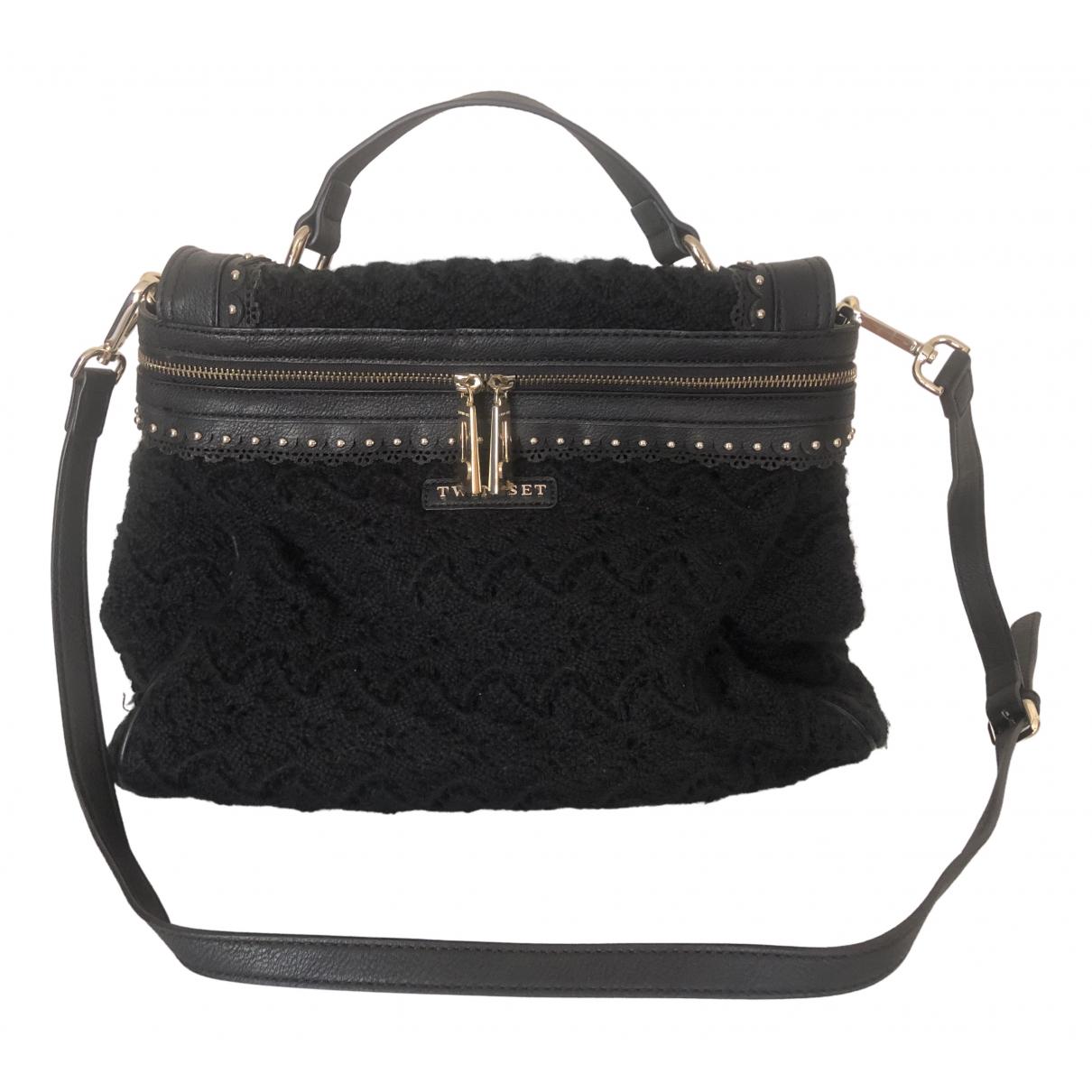 Twin Set \N Black Wool handbag for Women \N