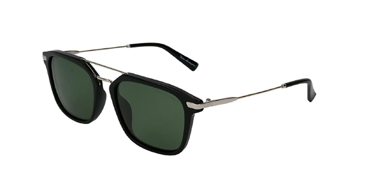 Tonino Lamborghini TL905S S01 Men's Sunglasses Black Size 52