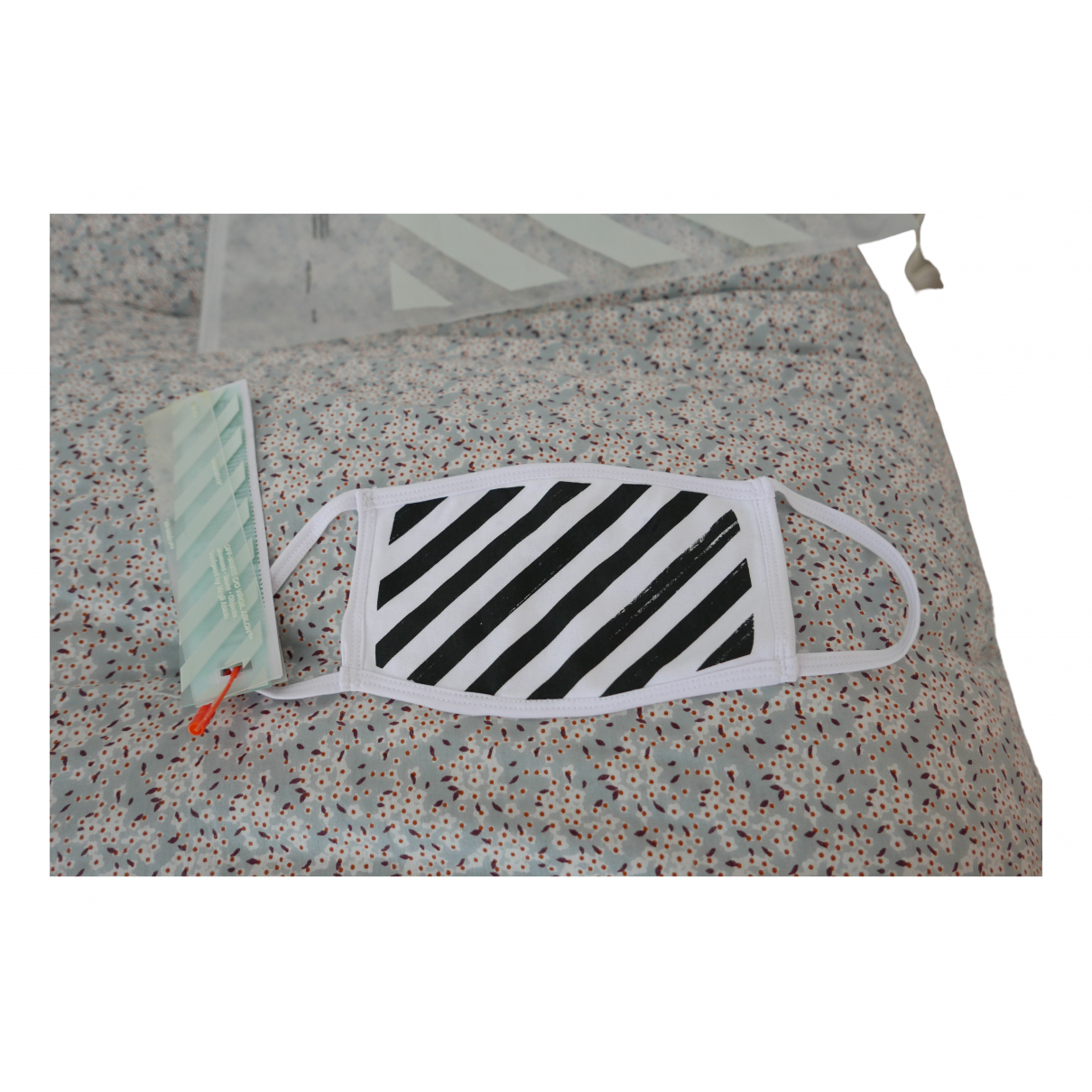 Off-white \N White Cotton scarf for Women \N