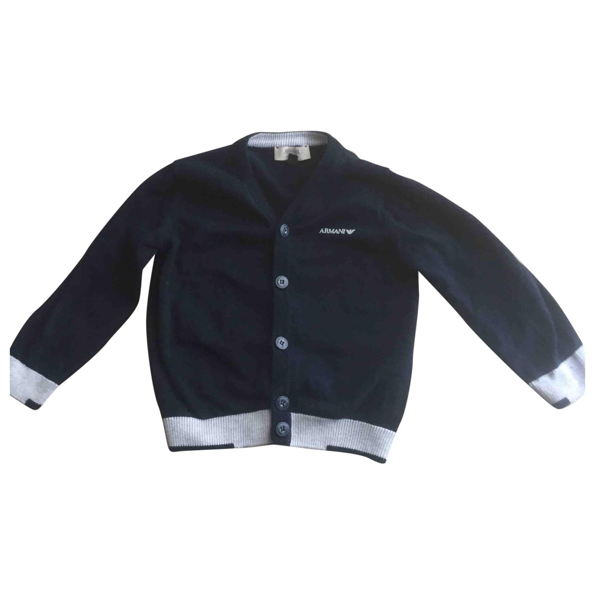 Armani Baby \N Blue Cotton Knitwear for Kids 12 months - up to 74cm FR