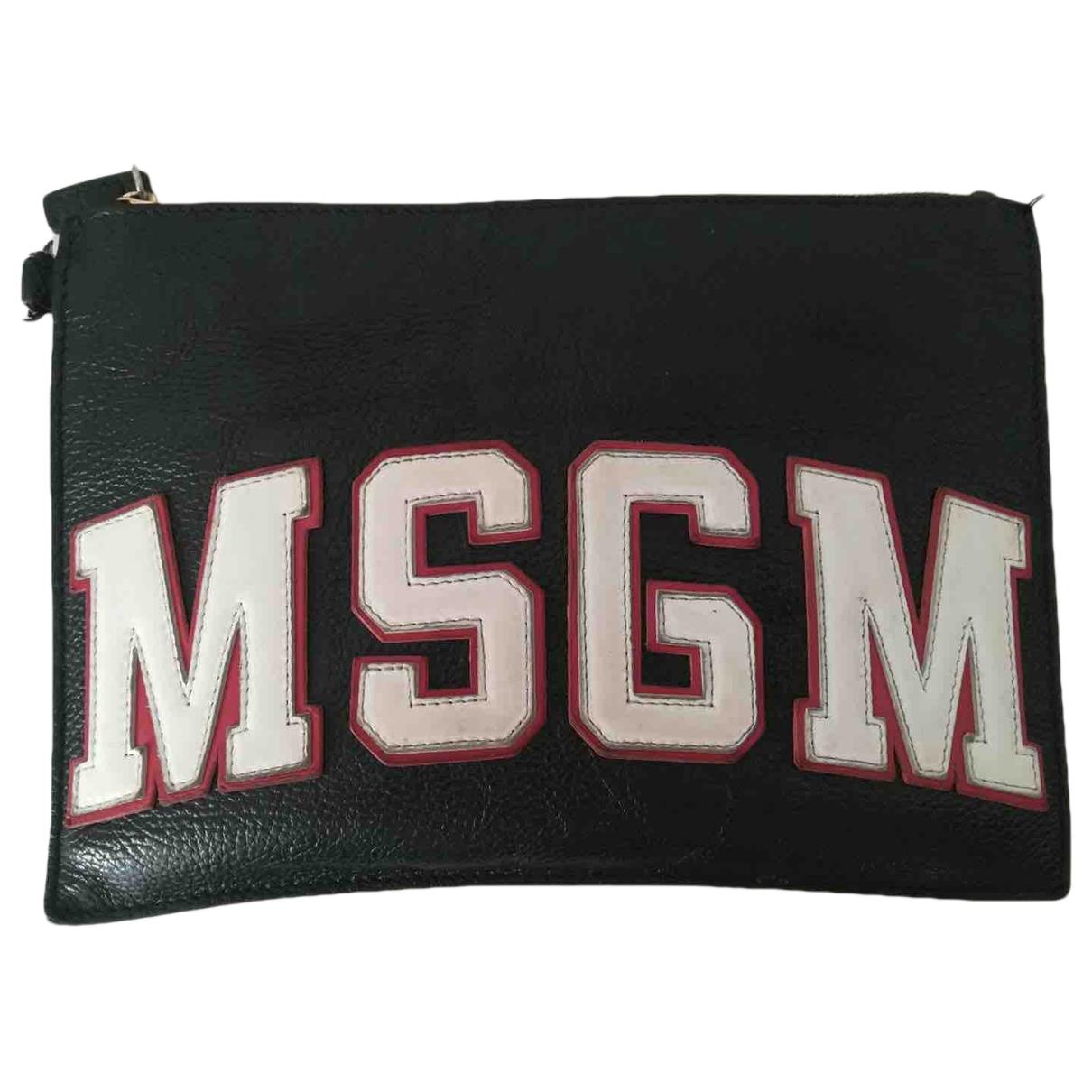 Pochette de Cuero Msgm